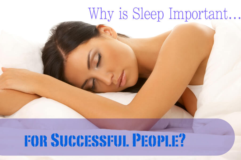 sleep successful people