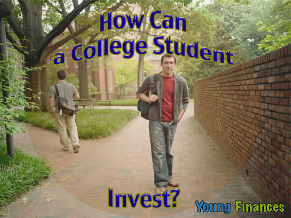 how can college student invest