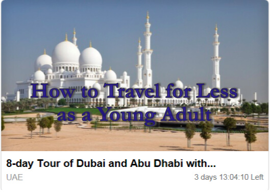 groupon deal to dubai