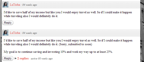 save half income commenter