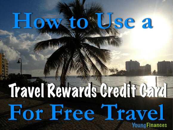 travel rewards credit card