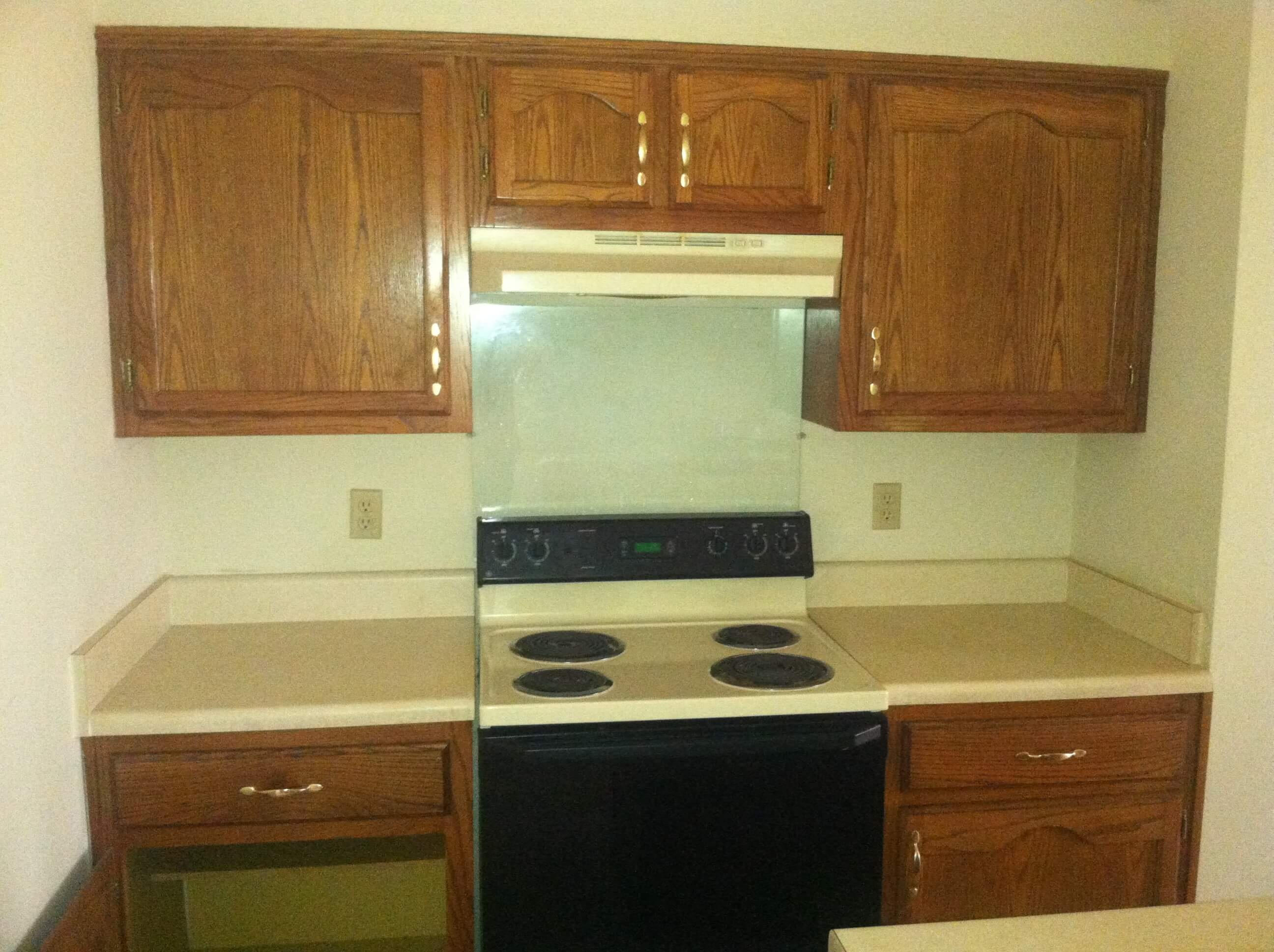 renovating old kitchen cabinets how to remodel a 20 year kitchen for less than 3 000 25382
