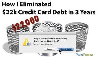 How I Paid off $22,000 of Credit Card Debt | Young Finances