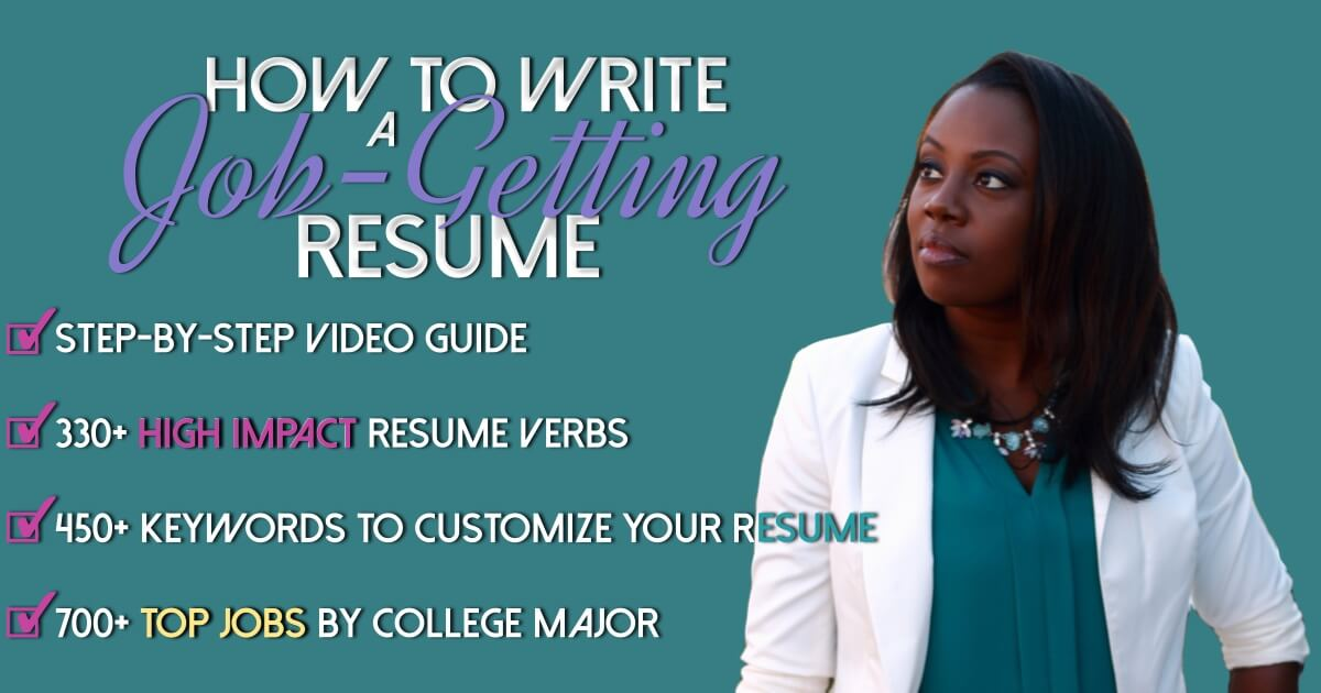 How to Write a Job Getting Resume