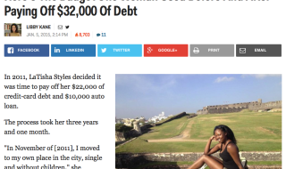 Here's The Budget One Woman Used Before And After Paying Off $32,000 Of Debt | Business Insider