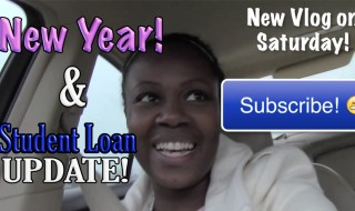 New Year Vlog Student Loan Update | Young Finances