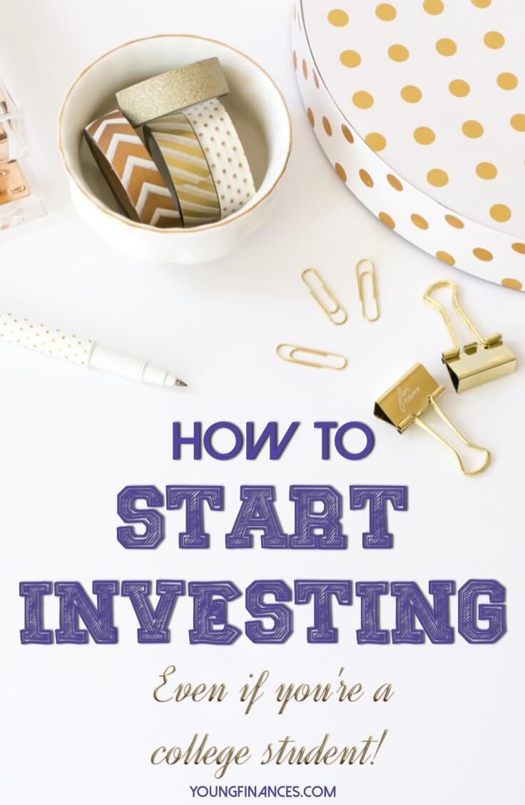 If you want to get started investing the process is so much easier than you think. Great guide for beginners!