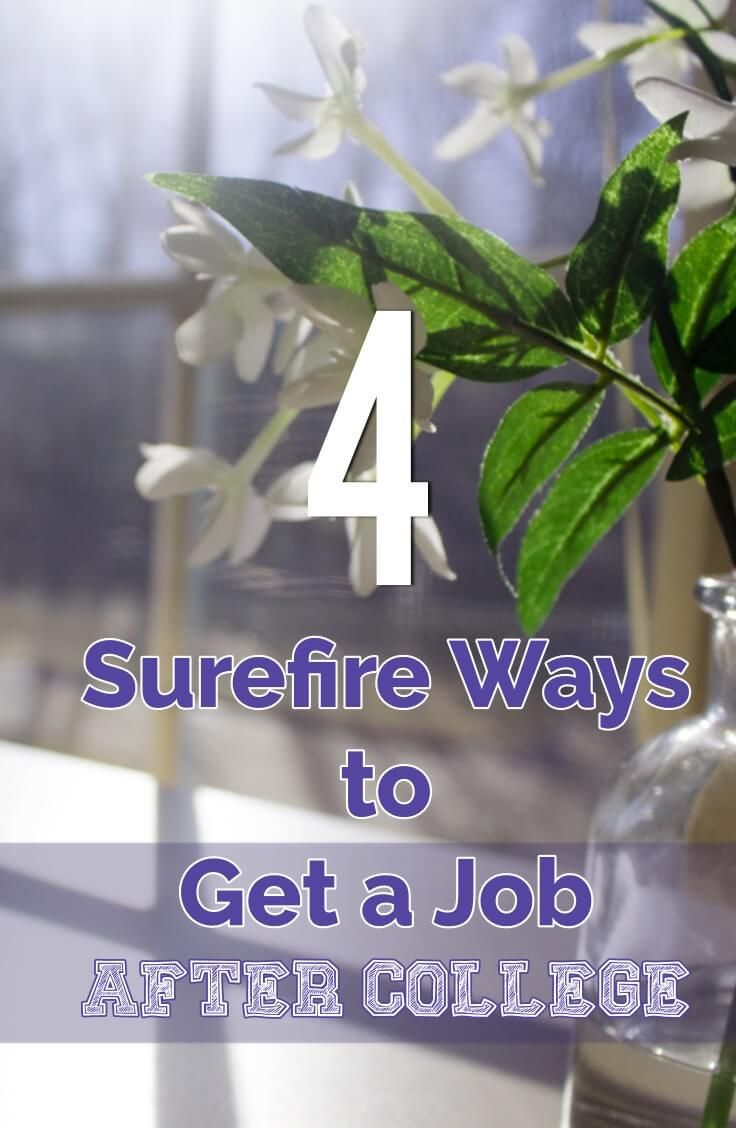 If you're trying to get a job, this guide will help. I used 3 and 4 to snag my first job after college.