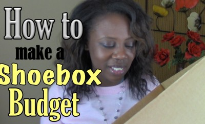 How to Make a Shoebox Budget | Young Finances
