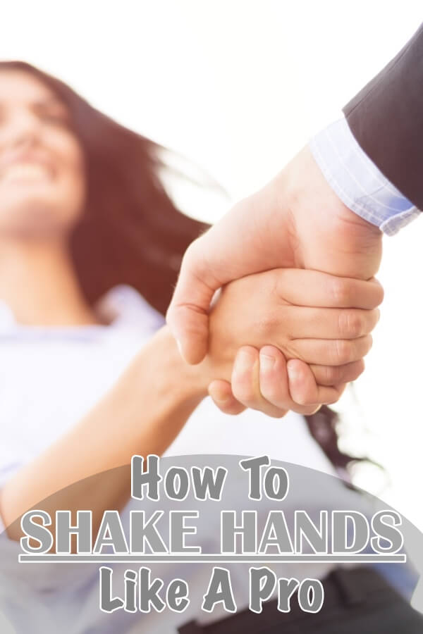 How to Shake Hands Like a Professional