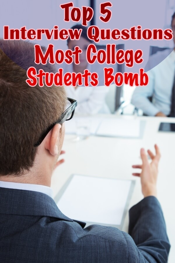 Top 5 Interview Questions Most College Students Bomb