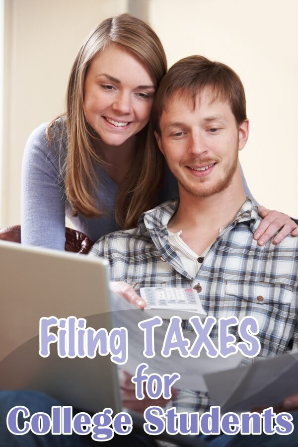 How Can a College Student File Taxes?
