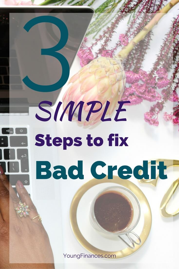 These steps are so easy. Perfect guide for do it yourself credit repair.