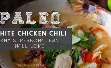 Paleo White Chicken Chili Any Superbowl Fan Will Love