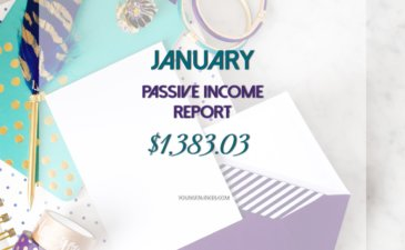 My January 2017 Passive Income Report – $1,383.03