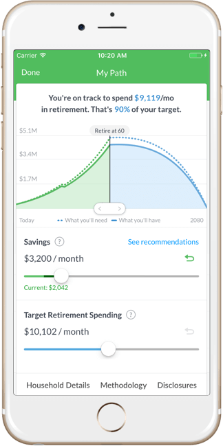 wealthfront review mobile image
