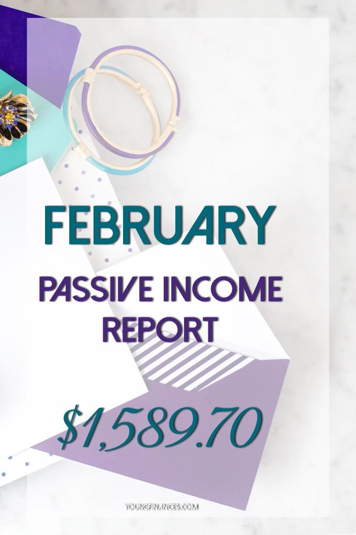 february passive income