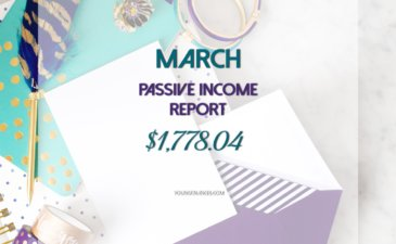 My March 2017 Passive Income Report – $1,778.04