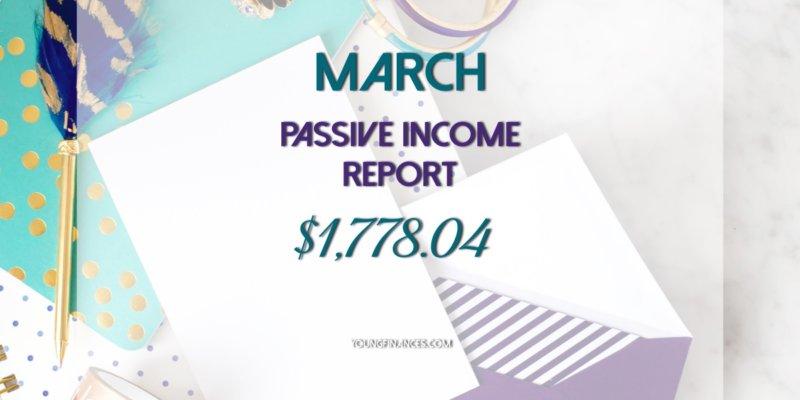 march passive income