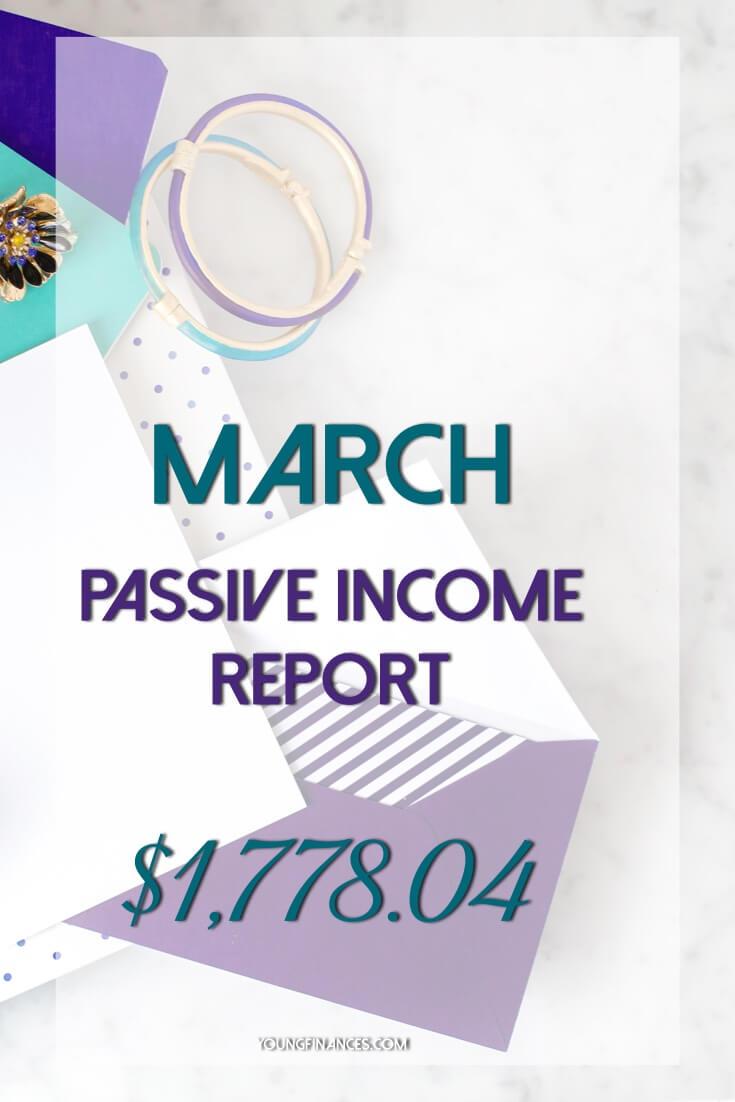 passive income march