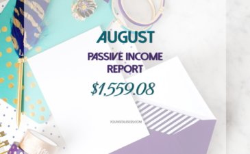 My August 2017 Passive Income Report – $1559.08